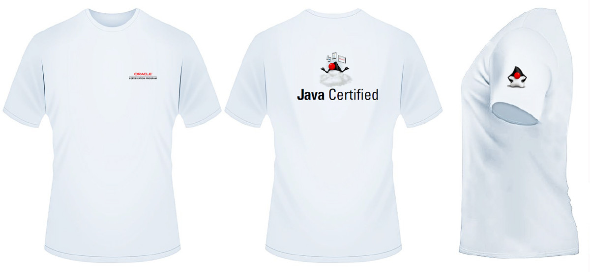 T Shirt certification Java